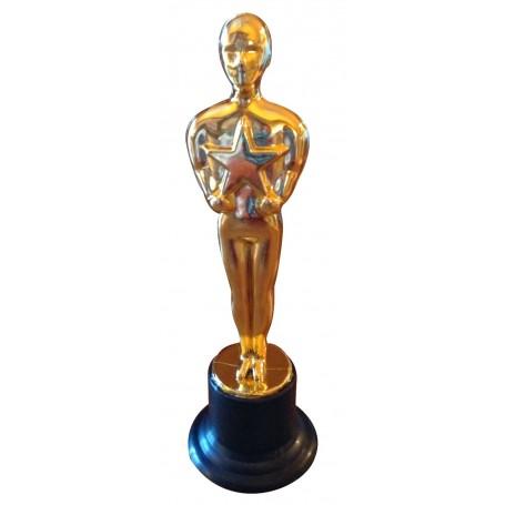 Gold Star Award Trophy