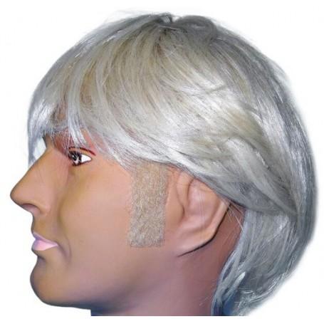 Sideburns - Straight Blonde