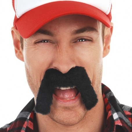 Moustache - Trucker (Black)