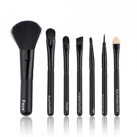 Mini 7 piece brush set