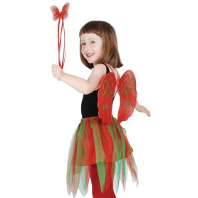 Christmas Angel Set - Green/Red