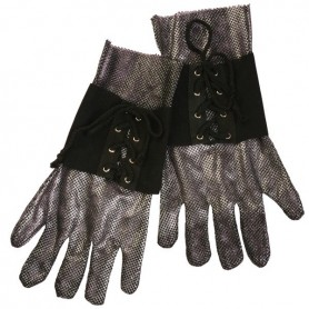 Medieval Knight Gloves - Adult