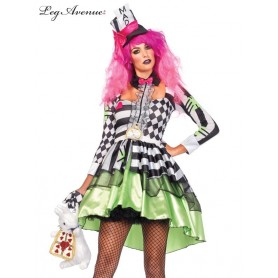 Deliriously Mad Hatter 2PC Costume