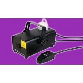 Electric fog machine with wired remote