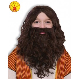 Biblical Wig & Beard Set - Child