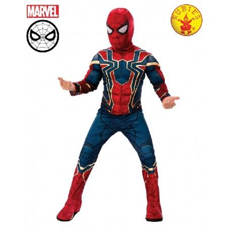 Infinity War Deluxe Iron Spider Boys Costume