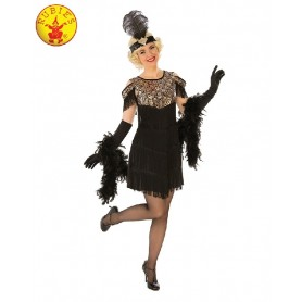 Gold Flapper Costume - Adult