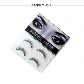 Pansly Mink Collection Strip Lashes  - 2-1