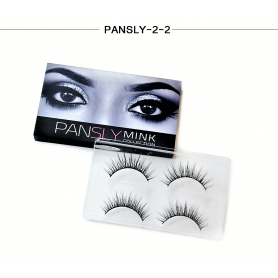 Pansly Mink Collection Strip Lashes  - 2-2