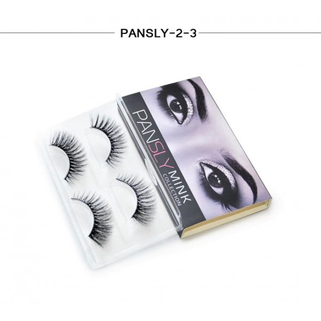 Pansly Mink Collection Strip Lashes  - 2-3