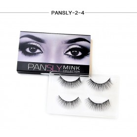 Pansly Mink Collection Strip Lashes  - 2-4