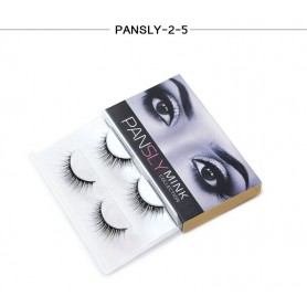 Pansly Mink Collection Strip Lashes  - 2-5