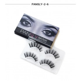 Pansly Mink Collection Strip Lashes  - 2-6