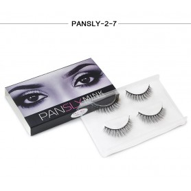 Pansly Mink Collection Strip Lashes  - 2-7