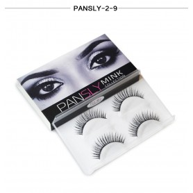 Pansly Mink Collection Strip Lashes  - 2-9