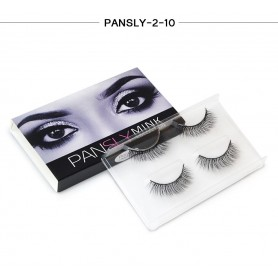 Pansly Mink Collection Strip Lashes  - 2-10