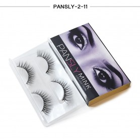 Pansly Mink Collection Strip Lashes  - 2-11