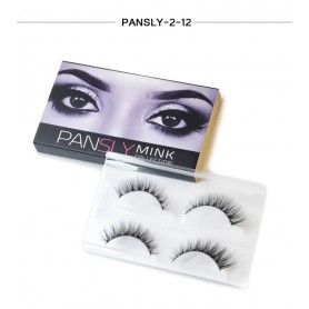 Pansly Mink Collection Strip Lashes  - 2-12