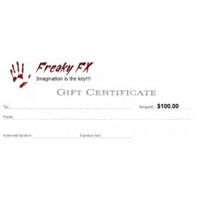 Freaky FX $100 Gift Card