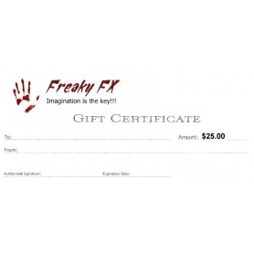 Freaky FX $25 Gift Card