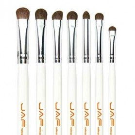 Pro Makeup Brush Set - 7 piece - Cream