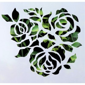 Stencil - Roses 1