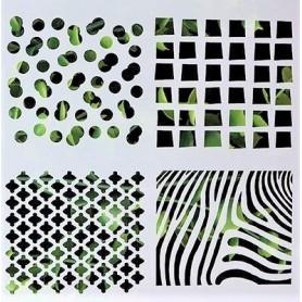 Stencil - Mixed Designs