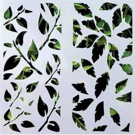Stencil - Mixed Leaves