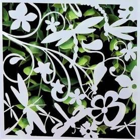 Stencil - Garden