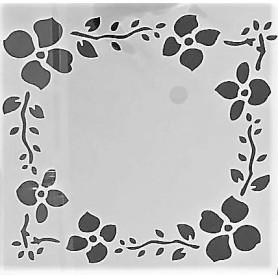 Stencil - Flower Chain