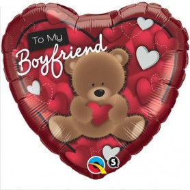 To My Boyfriend Bear Heart