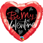 Be My Valentine Script Heart