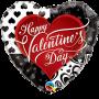 Valentine's Black Hearts