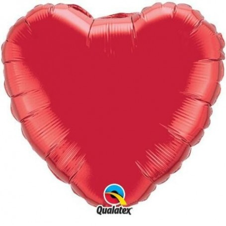 Heart Solid Red