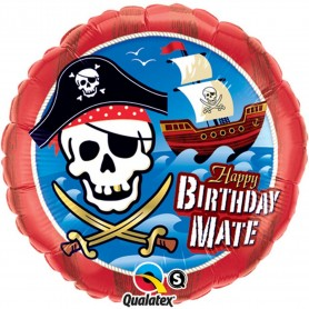 Happy Birthday Mate Pirate Ship