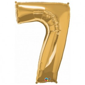 Number Seven Gold - Qualatex
