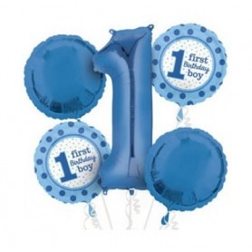 1st Birthday Blue Bouquet kit - 5x Pack