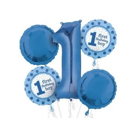 1st Birthday Blue Bouquet kit - 5x Pack