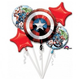 Avengers Shield Licensed Bouquet kit - 5x Pack