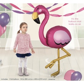 Airwalker - Flamingo Size 86cm x 172cm
