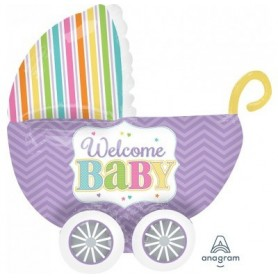 Welcome Baby Bright Carriage