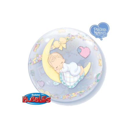 Precious Moments Baby Shower - Bubble Balloon 22in.