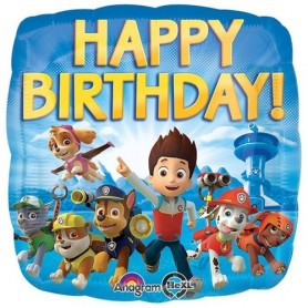 Paw Patrol Happy Birthday