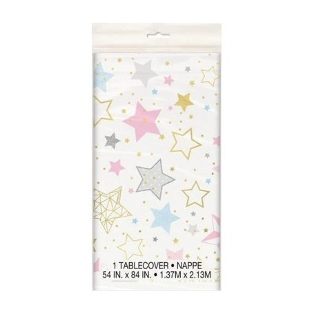 Twinkle Star Plastic Tablecover