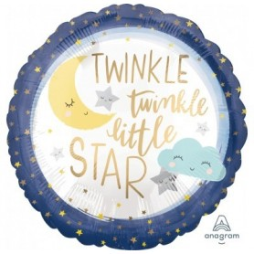 Twinkle Twinkle Little Star - Foil Balloon 18in.