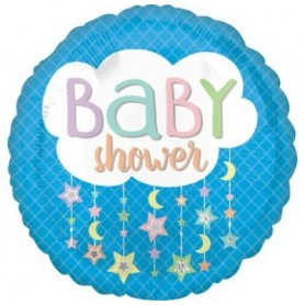 Baby Shower Cloud - Foil Balloon 18in.