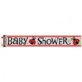 Lady Bugs Baby Shower - Foil Banner 12ft
