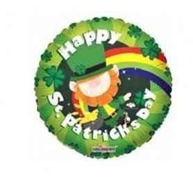 Happy St Patrick's Day - Foil Balloon 18in.