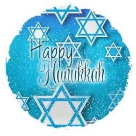 Happy Hanukkah Mini Shape - 9inch