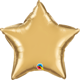 Chrome Foil Star - Gold 20 inch